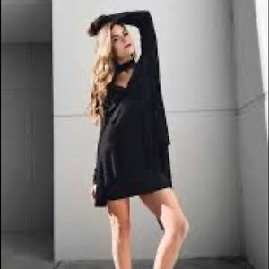 Free People Black Uptown Tunic Top